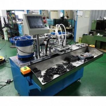 铝合金散热器弹簧钉半自动装配机